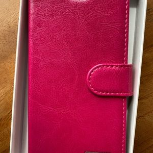 LABATO pink leather iPhone case 4210/6&6S/NEW in b